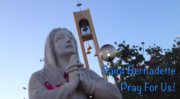 St Bernadette 50th video